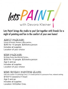 Let's Paint with Devorah Kleiner